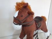 Большая музыкальная лошадка-качалка! Оригинал! Акция! Подарок!